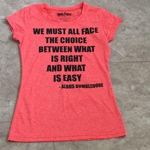 Harry Potter T-Shirt Junior Size Small EUC
